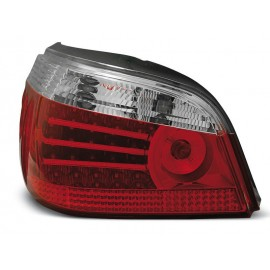 BMW E60 Sedan Clear Red/White Led Diodowe LDBM18