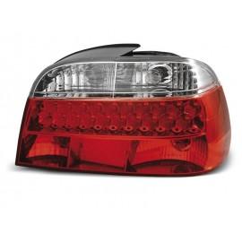 BMW E38 Sedan Clear Red/White Led Diodowe LDBM06