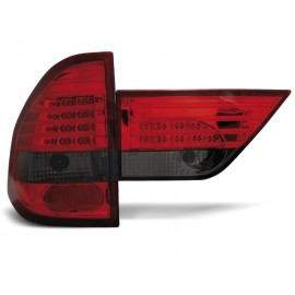 BMW X3 Clear Red/Black Led Diodowe LDBM48