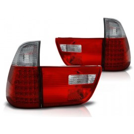 BMW X5 E53 Clear Red/White  Led diodowe LDBMA3