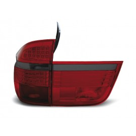 BMW E70 X5 - RED BLACK LED diodowe LDBM92