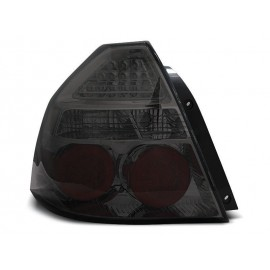 Chevrolet Aveo Sedan Clear Black Led Diodowe LDCT03