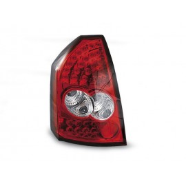 Chrysler 300C - Clear Red/White Led LDCH02