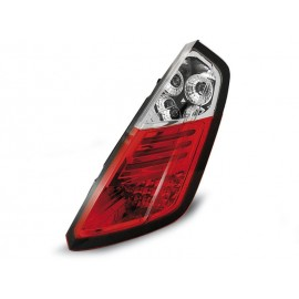Fiat Grande Punto Clear Red/White Led- diodowe LDFI02
