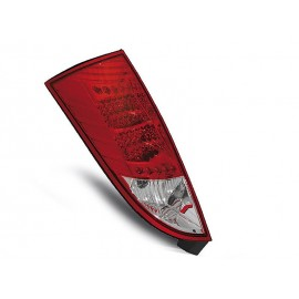 Ford Focus 1 -  clearglass red/white LED - diodowe LDFO04