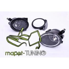 Halogeny ClearGlass BLACK - BMW E39 M-5 / E46 M-3