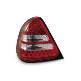 Mercedes C-klasa (W202) red white LED - DIODOWE LDME14