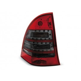Mercedes C-klasa kombi (W203) red / smoke LED - DIODOWE LDME63
