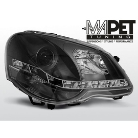 VW Polo 9N3  05-09  DayLight BLACK LED - LPVWA6