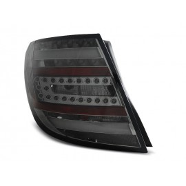 Mercedes C-klasa Kombi (W204) smoked black LED BAR - DIODOWE LDME76