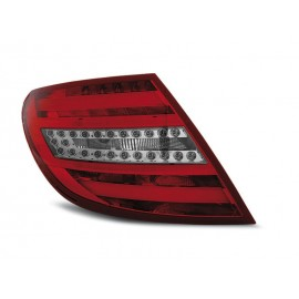 Mercedes C-klasa Sedan (W204) red / black LED BAR - DIODOWE LDME64
