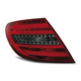 Mercedes C-klasa Sedan (W204) red / black LED BAR - DIODOWE  LDME66