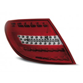 Mercedes C-klasa Sedan (W204) red / white FULL LED BAR - DIODOWE  LDME71