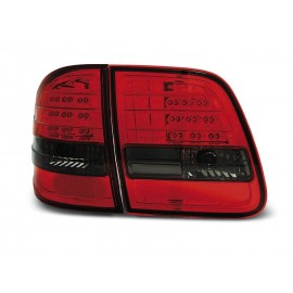 Mercedes E-klasa Kombi (W210) red/black LED - DIODOWE LDME90