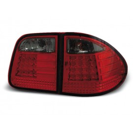 Mercedes E-klasa Kombi (W210) red/black LED - DIODOWE LDME11