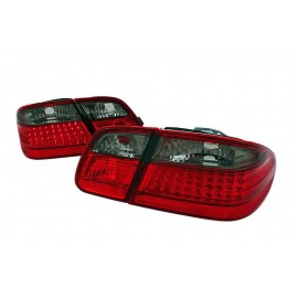 Mercedes E-klasa Sedan (W210) red / black LED - DIODOWE LDME29
