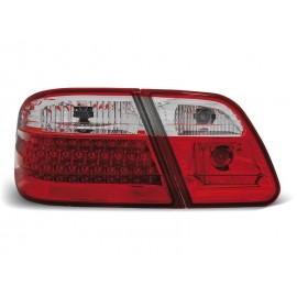 Mercedes E-klasa Sedan (W210) red / white LED - DIODOWE LDME28