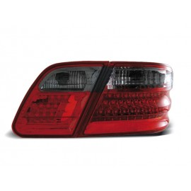 Mercedes E-klasa Sedan (W210) red / black LED - DIODOWE LDME08