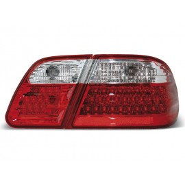 Mercedes E-klasa Sedan (W210) red / white LED - DIODOWE LDME01