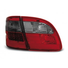Mercedes E-klasa Kombi  (W211) red / black LED - DIODOWE  LDME82