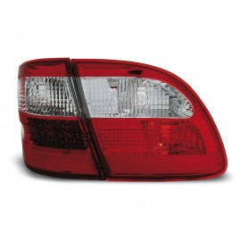 Mercedes E-klasa Kombi  (W211) red / white LED - DIODOWE  LDME81