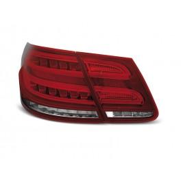 Mercedes E-klasa Sedan (W212) red / white LED BAR - DIODOWE DYNAMICZNE LDMEB2