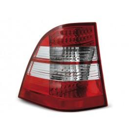 Mercedes M-klasa (W163) clear Red / White LED DIODOWE  LDME04