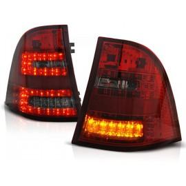 Mercedes M-klasa (W163) clear Red / Black LED DIODOWE  LDME22