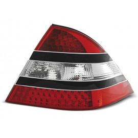 Mercedes S-klasa (W220) red / black LED - DIODOWE  LDME07