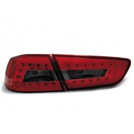 Mitsubishi Lancer 8 Sedan - Red Black LED diodowe LDMI05