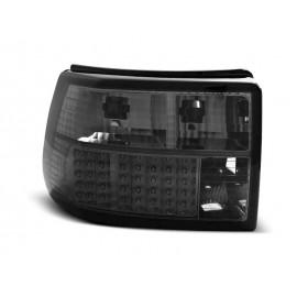 Opel Asta F  clearglass LED BLACK Smoked - Czarne Diodowe LDOP43 DEPO