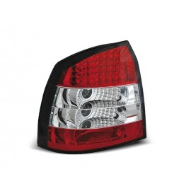 Opel Astra G 3/5d - clearglass LED red/white - diodowe  LDOP06