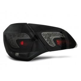 Opel Astra J IV - BLACK LED - diodowe  LDOP46