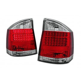 Opel Vectra C - clear LED red/white - diodowe LDOP25