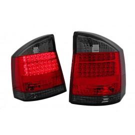 Opel Vectra C - clear LED red/black - diodowe  LDOP26