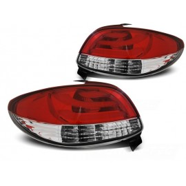 Peugeot 206 LED BAR Red/White - diodowe LDPE20
