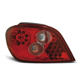 Peugeot 307  clearglass LED Red / White - diodowe LDPE02