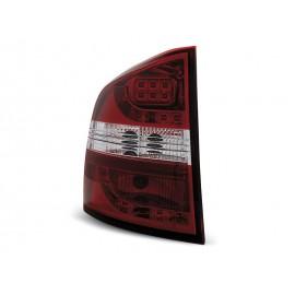 Skoda Octavia II Kombi 04- LED Red / White - diodowe LDSK03