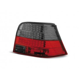 VW Golf 4 clear RED / BLACK LED diodowe LDVW32 DEPO