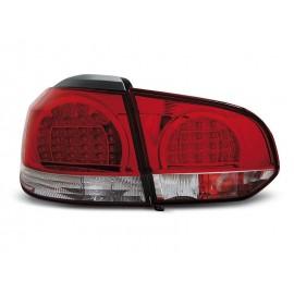 VW Golf 6 RED / WHITE LED czerwono białe diodowe LDVWB5 DEPO