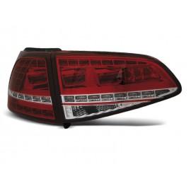 VW Golf 7 - Red / White LED GTi Look - DIODOWE  LDVWG0
