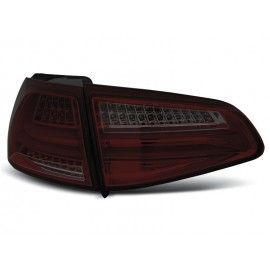 VW Golf 7 - Smoked Red LED BAR NEON - DIODOWE  LDVWG5