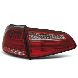 VW Golf 7 - Red / White LED BAR NEON - DIODOWE  LDVWG4
