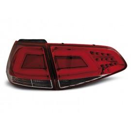 VW Golf 7 RED / WHITE LED BAR czerwono białe diodowe  LDVW02