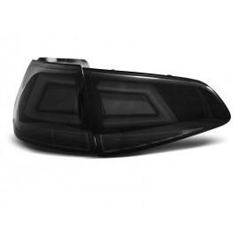VW Golf 7 SMOKED BLACK LED BAR czarne dymione diodowe  LDVW03