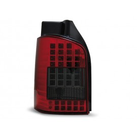 VW T5 Caravelle / Multivan 2003- LED RED / BLACK diodowe LDVW45
