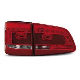 VW Touran II - RED WHITE LED -  diodowe LDVWA9