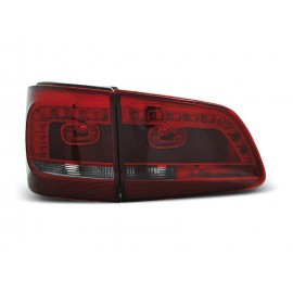 VW Touran II - SMOKED RED LED - diodowe LDVWB0