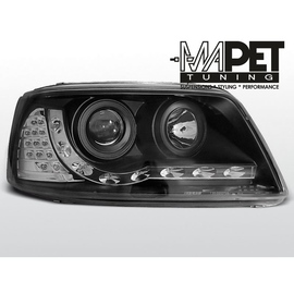 VW T5 Bus 2003- DayLight BLACK LED - LPVWA8