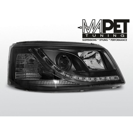 VW T5 Bus 2003- diodowe BLACK LED - LPVW38